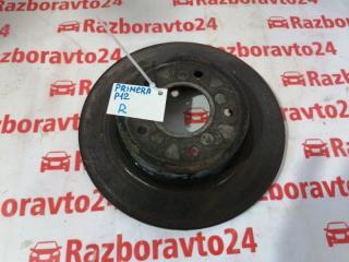 Диск тормозной задний Nissan Primera 2005