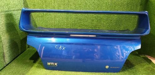 Крышка багажника задняя SUBARU IMPREZA WRX 2003