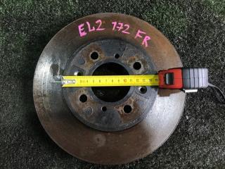 Запчасть тормозной диск передний правый HONDA Orthia 1996