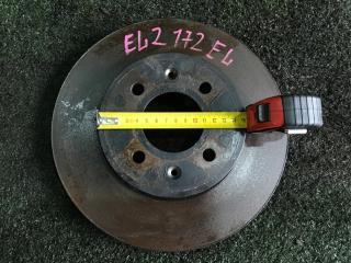 Запчасть тормозной диск передний левый HONDA Orthia 1996