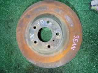 Запчасть тормозной диск передний правый Nissan SKYLINE