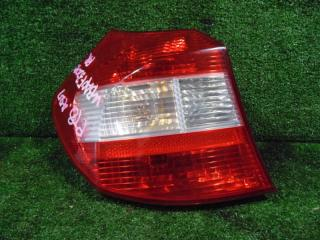 Запчасть фонарь задний левый BMW 118I 2008