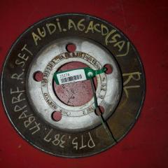 Запчасть тормозной диск задний левый AUDI A6 2000