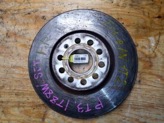 Запчасть тормозной диск передний правый VOLKSWAGEN TOURAN 2008