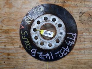 Запчасть тормозной диск задний левый VOLKSWAGEN GOLF 6 2011
