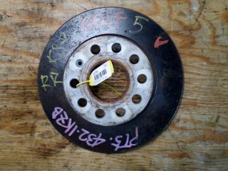 Запчасть тормозной диск задний правый VOLKSWAGEN GOLF 6 2011