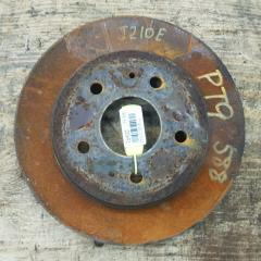 Запчасть тормозной диск передний левый TOYOTA RUSH 2006