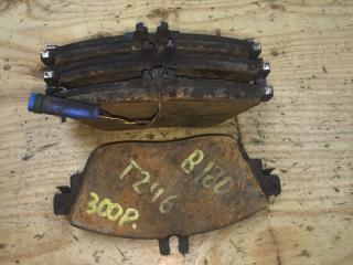 Запчасть колодки тормозные передние MERCEDES-BENZ B180 2016