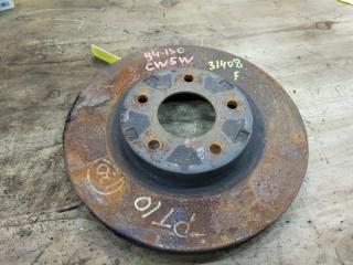 Запчасть тормозной диск передний MITSUBISHI OUTLANDER 2006