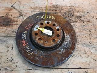 Запчасть тормозной диск передний левый VOLKSWAGEN TIGUAN 2010