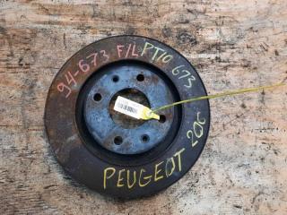 Запчасть тормозной диск передний левый PEUGEOT 206 2006