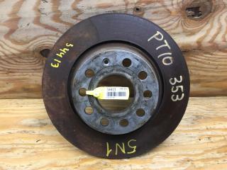 Запчасть тормозной диск задний левый VOLKSWAGEN TIGUAN 2010