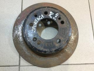 Запчасть диск тормозной задний Kia Sportage 2010-2015