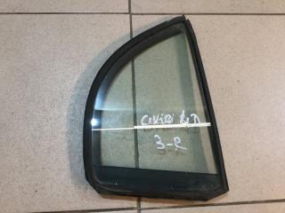 Запчасть стекло двери (форточка) заднее правое Honda Civic 2006-2012