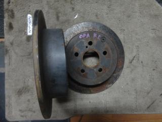 Запчасть диск тормозной задний Toyota Opa 2000-2005