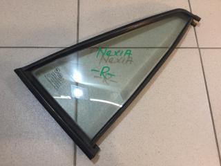 Запчасть стекло двери (форточка) заднее правое Daewoo Nexia 1995-2016