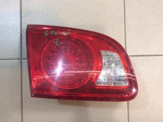Запчасть фонарь задний внутренний задний левый Hyundai Santa Fe 2005-2012