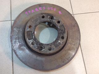 Запчасть диск тормозной передний вентилируемый передний правый Hyundai Starex 2007>