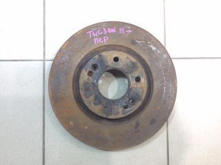 Запчасть диск тормозной передний вентилируемый передний Hyundai Tucson 2015-2020
