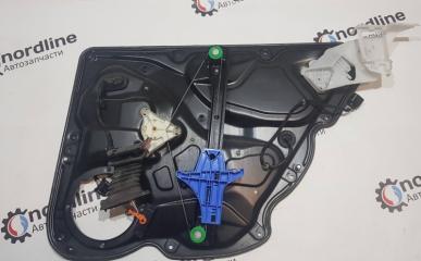 Механизм стеклоподъёмника задний левый Passat B6 2008 универсал 1.9 BXE