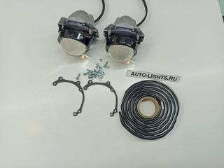 Запчасть би-светодиодные линзы dixel hella3r для mitsubishi pajero 4 2й рестайлинг Mitsubishi Pajero