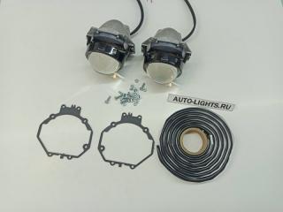 Запчасть би-светодиодные линзы dixel hella3r для mitsubishi pajero 4 дорестайлинг Mitsubishi Pajero