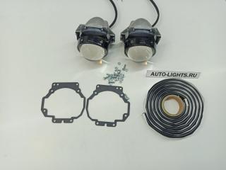 Запчасть би-светодиодные линзы dixel hella3r для acura mdx Acura MDX