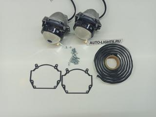 Запчасть би-светодиодные линзы dixel hella3r для audi a4 b6 Audi A4