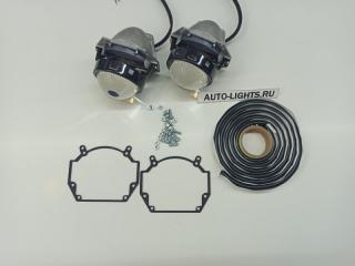 Запчасть би-светодиодные линзы dixel hella3r для saab 9-3 Saab 9-3