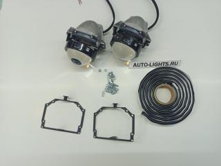 Запчасть би-светодиодные линзы dixel hella3r для volkswagen passat b7 с системой afs Volkswagen Passat
