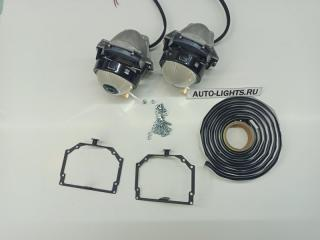 Запчасть би-светодиодные линзы dixel hella3r для volvo xc70 с системой afs Volvo XC70