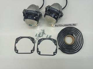 Запчасть би-светодиодные линзы dixel hella3r для nissan murano z51 Nissan Murano