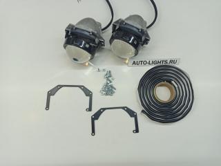 Запчасть би-светодиодные линзы dixel hella3r для mitsubishi pajero sport 2 Mitsubishi Pajero Sport