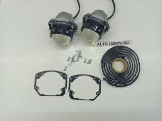 Запчасть би-светодиодные линзы dixel hella3r для honda civic 7 Honda Civic