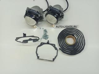 Запчасть линзы фары lexus rx350 bi-led hella3r dixel адаптив Lexus RX