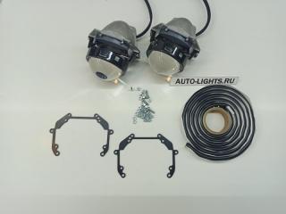Запчасть линзы фары nissan murano z51 bi-led hella3r dixel адаптив Nissan Murano