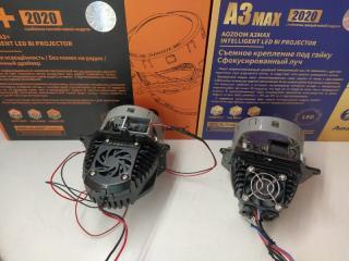Линзы фары Infiniti FX35/45 Bi-LED Hella3r Aozoom FX35 S50