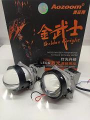 Запчасть би-светодиодные линзы с лазером aozoom golden knight 3.0 Toyota Camry