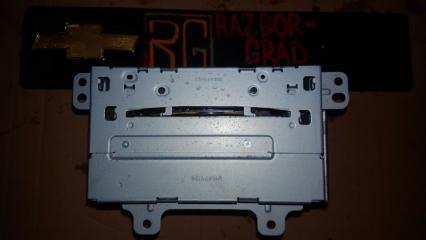 Запчасть магнитола Chevrolet Cruze 2009
