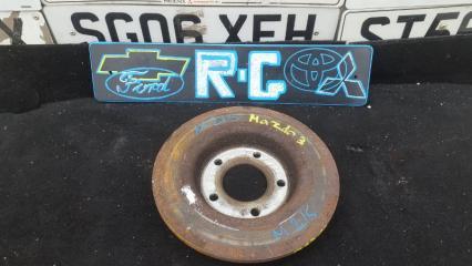 Запчасть тормозной диск задний Mazda 3 BK